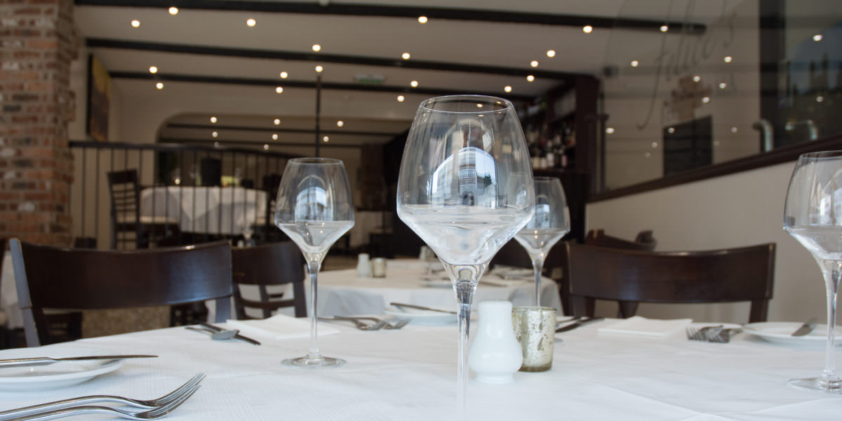 Inside Bella Roma Restaurant, Wakefield
